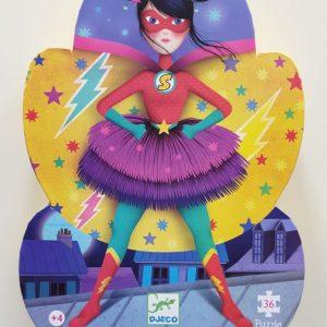 Puzzle SuperWoman 4 ans +
