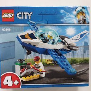 Jet de police Lego