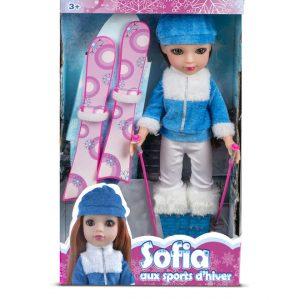poupée sports d'hiver