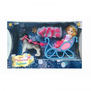 mini princesse traineau