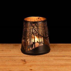 lanterne déco hiver