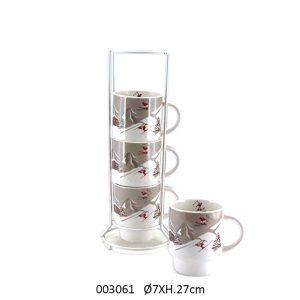 tasse à café déco montagne