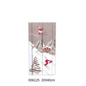 panneau bois déco Montagne