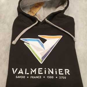 sweat à capuche Valmeinier