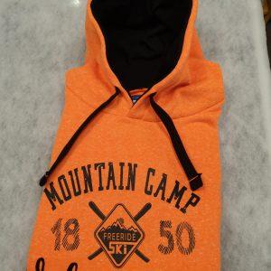 sweat-shirt valmeinier orange