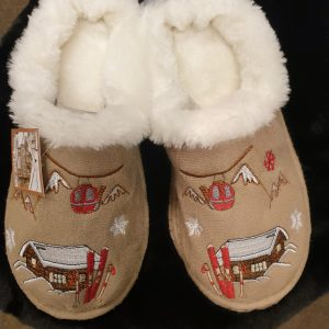 chaussons chauds hiver